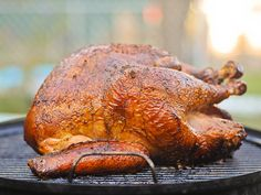 Cajun Smoked Turkey Recipe, hope Nelson can pull this off Cajun Smoked Turkey Recipe, Cajun Turkey, Turkey Rub, Smoked Meat Recipes, Turkey Recipes, Turkey Meals, Venison Recipes, Cooking Turkey, Sausage Recipes