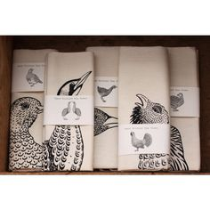 Screen Printed Tea Towels