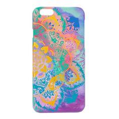 Foil Mandala Indian Tye Die Phone Case - iPhone 6/6S