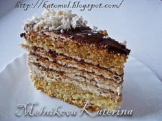 """Вкусная правда жизни: Бисквитно-вафельный торт """"Этюд"""""""