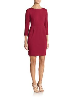 Lafayette 148 New York - Crepe Sheath Dress