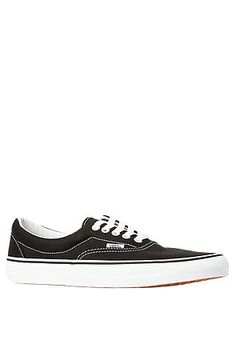7cf0f52197156 The Era Sneaker in Black by Vans Vans Footwear, Vans Shoes, Streetwear  Fashion,