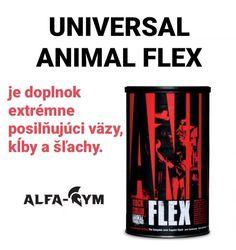Universal ANIMAL FLEX je doplnok extrémneposilňujúci väzy, kĺby a šľachy. Tento preparát bol opakovane ocenený ako výrobok roku vo svojej kategórii. . .viac na www.alfa-gym.sk Fitness, Instagram, Keep Fit, Health Fitness, Rogue Fitness, Gymnastics
