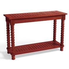 Meridian Console in Weathered Paprika