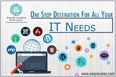 ✊Grow more & achieve more with the best #ITServices of SwipeCubes Softs, the one stop destination for all your IT needs✊