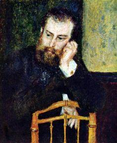 KPIX | Ritratto del pittore Alfred Sisley