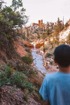How To Spend One Day At Bryce Canyon National Park Utah   Mossy Cave Trail #brycecanyon #utah #simplywander #mossycave