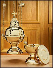 Amazon.com: Gold Eastern Rite Censer with 12 Bells and Boat Set: Everything Else