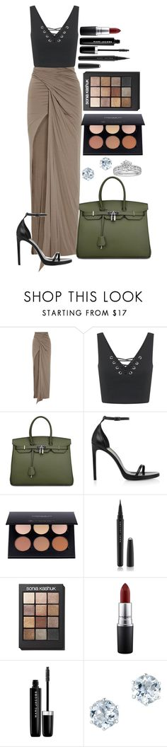 """""""Untitled #1416"""" by fabianarveloc on Polyvore featuring Rick Owens Lilies, Miss Selfridge, Yves Saint Laurent, Marc Jacobs, Sonia Kashuk, MAC Cosmetics, Tiffany & Co., men's fashion and menswear"""