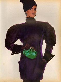 "US Vogue October 1985 ""Paris/Rome...Couture Superlatives""   04-5.jpg Photo by guynlgbch | Photobucket"