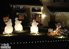 Calvin & Hobbes Lawn Decorations