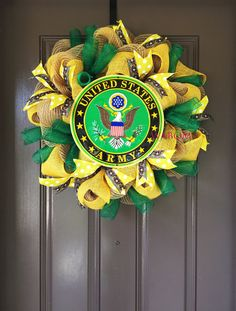 Hey, I found this really awesome Etsy listing at https://www.etsy.com/listing/261828456/united-states-army-wreath-army-wife-army