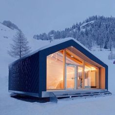 @prefabnsmallhomes Courmayeur Ski School by LEAPfactory #interiors #interiordesign #architecture #decoration #interior #home #design #furniture #architect #homedecor #decoration #decor #prefab #smallhomes #compact #compactliving #shed #cabin #tagsforlikes #tinyhomes #tinyhouse #minimalist #minimalism #decorating #tags4likes #houseboat #chalet #container #containerhouse by oshin.bali
