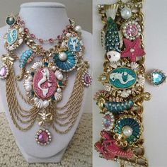 Betsey Johnson necklace. I like the idea of it... but I don't think I would wear it. BUT MERMAIDS YAY