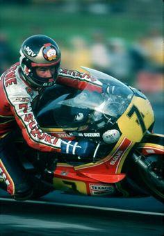 Barry Sheene Suzuki 500 1978