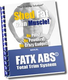 Fatx Abs eBook System manual for the bodybuilding fitness software.