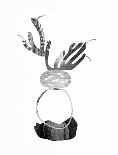 Black and White Exquisite Plant Collages Collage 9 x 2015 Cardboard Sculpture, Paper Plants, Short Film, Landscape Paintings, Black And White, Collages, Art, Inspiration, Art Background