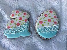 Floral Easter Cookies