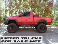 2007 dodge ram 1500 slt 4x4 lifted truck - Red 2005 Dodge Ram 1500 Lifted