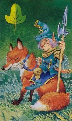 Knight of Swords( ??) Fairy Tarot