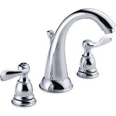 Delta Windemere Two Handle Widespread Bathroom Faucet