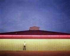 Samuel Hicks: Neon – Dunkin' Donuts, Pampa, Texas 2006
