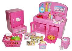 Sanrio Hello Kitty kitchen set Toy Japan F/S #MURAOKA