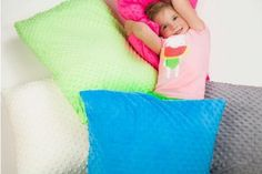 Minky Pillow Covers