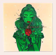 Kézzel festett üvegóra - Jáde hercegnő Princess Zelda, Magic, Fictional Characters, Art, Art Background, Kunst, Performing Arts, Fantasy Characters, Art Education Resources