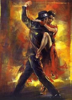 Pedro Alvarez Tango Argentino painting is shipped worldwide,including stretched canvas and framed art.This Pedro Alvarez Tango Argentino painting is available at custom size. Tango Art, Fabian Perez, Tango Dancers, Dance Paintings, Argentine Tango, Ballroom Dancing, Black Art, Love Art, Oeuvre D'art
