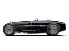 Bugatti Type 35B white background
