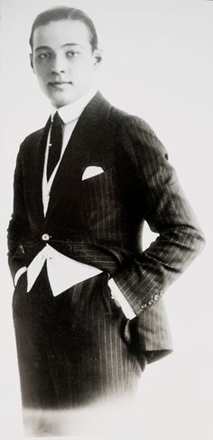 Rudolph Valentino - (May 6, 1895 – August 23, 1926)