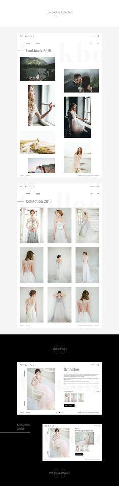 Mywony Bridal Dress on Behance