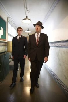 "The boys from ""endeavour."""