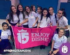 Estuvimos en Adoratrices visitando a las futuras pasajeras de la tierra mágica!! #Disney #WaltDisneyWorld #PromoTeam2016