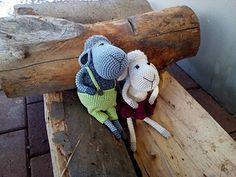 Hugo and Dolly pattern by Handmade ZuzuBu