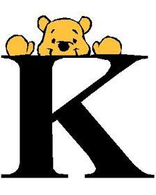 Alfabeto de Winnie de Pooh. | Oh my Alfabetos!