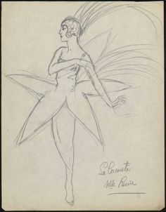 fashion illustration  Design by Paul Poiret, 1910's?, Les Arts Decoratifs