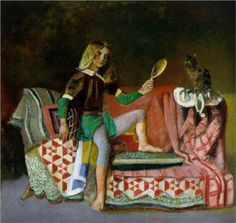 The Cat in the Mirror - Balthus