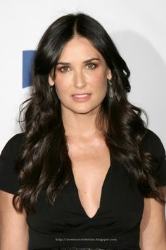 """Demi Moore...Star of """"Ghost""""."""