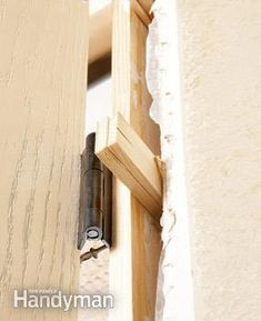 Being a homeowner isn't easy, but being a knowledgeable DIYer makes things easier. Home Design Diy, House Design, Entry Doors, Entrance, Home Projects, Projects To Try, Prehung Interior Doors, Covered Front Porches, Helpful Hints
