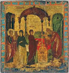 Byzantine Art Movement – The Arts in New York City Byzantine Art, Byzantine Icons, Religious Icons, Religious Art, Fresco, Lucas 2, Illustrations Vintage, Early Middle Ages, Biblical Art