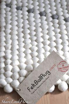 Vielen Dank an Sukhi und an Maya Rai für diesen wundervollen Teppich Ihr habt mit Eurem Filzkugelteppich mitten in unser Herz getroffen! www.Sukhi.de