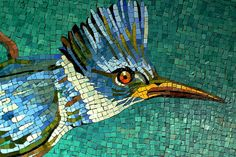 Photographic Mosaic kingfisher | Recent Photos The Commons Getty Collection Galleries World Map App ...