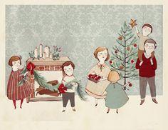 Kelsey Garrity-Riley Illustration: Deck the Halls