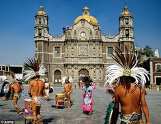 Mexico city... Our Lady of Guadalupe Basilica