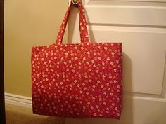 Because I say sew ;) : Tutorial for cutting mat tote