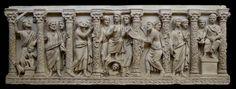 Sarcofago paleocristiano. IV secolo. Musei Vaticani