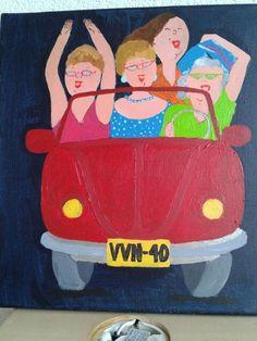 Vvn 40 jaar, schilderopdracht 09/04/2014