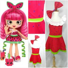 Pippa Melon Season 8 Shoppie https://www.etsy.com/listing/559634521/pippa-melon-inspired-costume #costume #shopkins #shoppies #costume #party #birthday